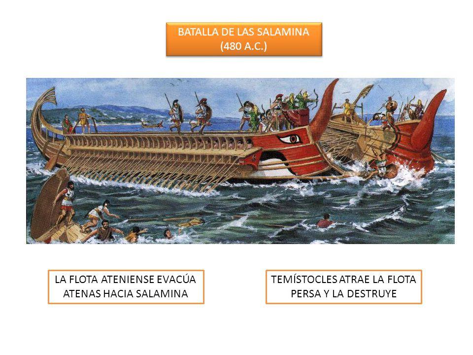 BATALLA DE LAS SALAMINA (480 A.C.)