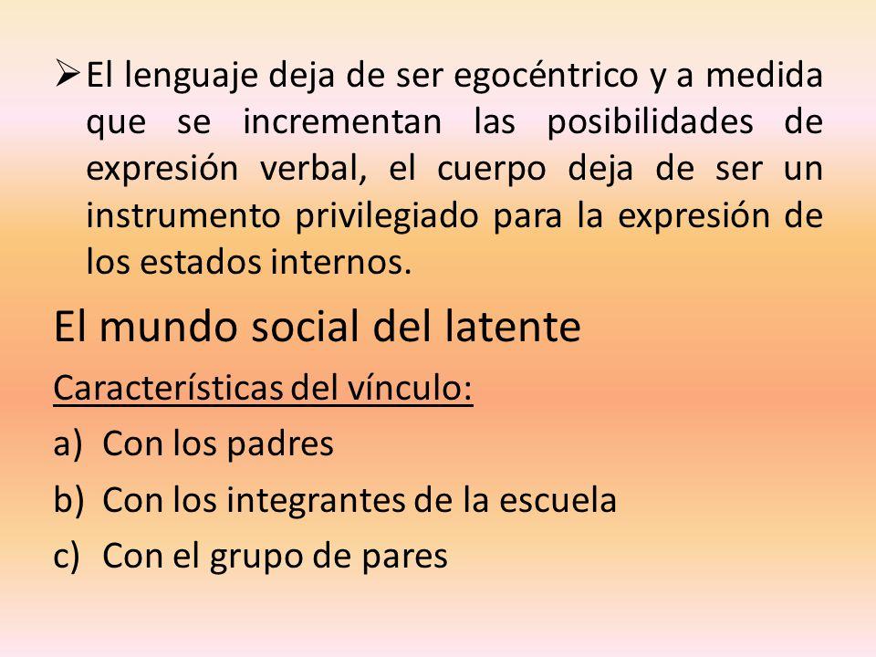 El mundo social del latente