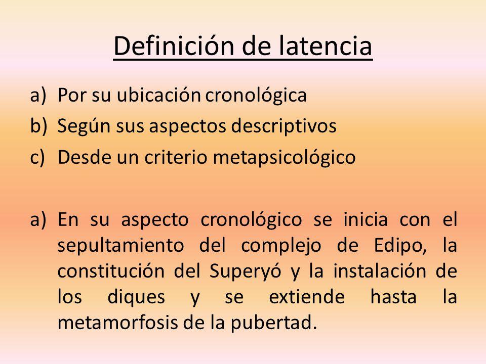 Definición de latencia