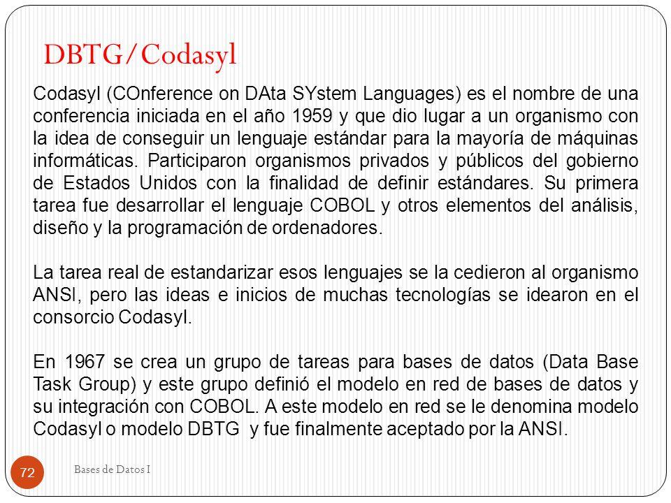 DBTG/Codasyl