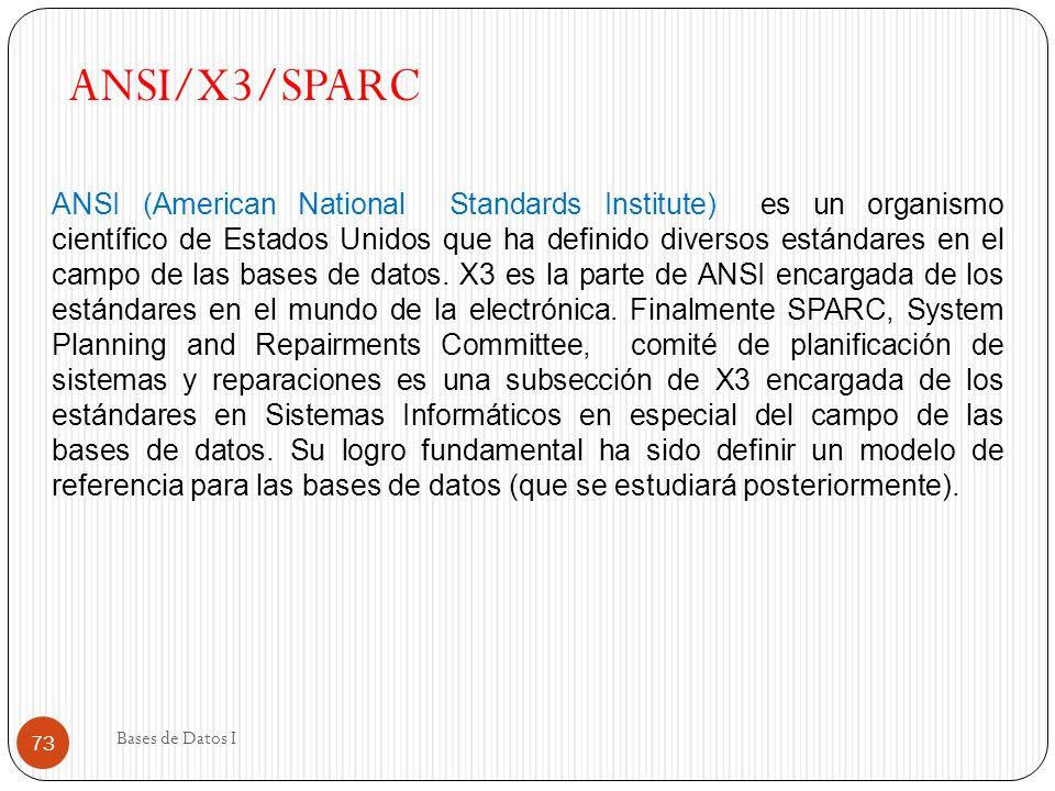 ANSI/X3/SPARC