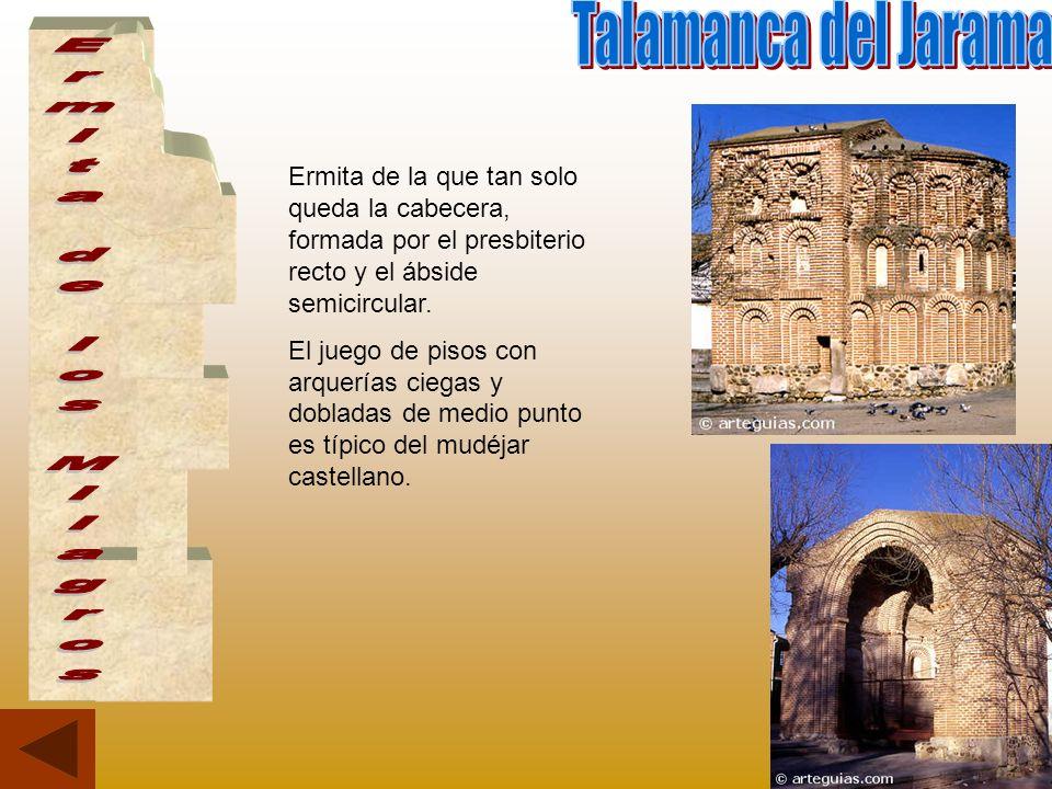 Talamanca del Jarama Ermita de los Milagros
