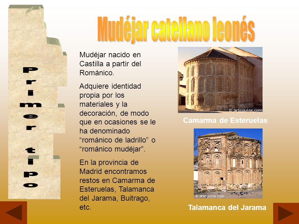 Mudéjar catellano leonés