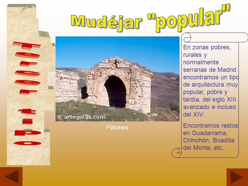 Mudéjar popular Tercer tipo