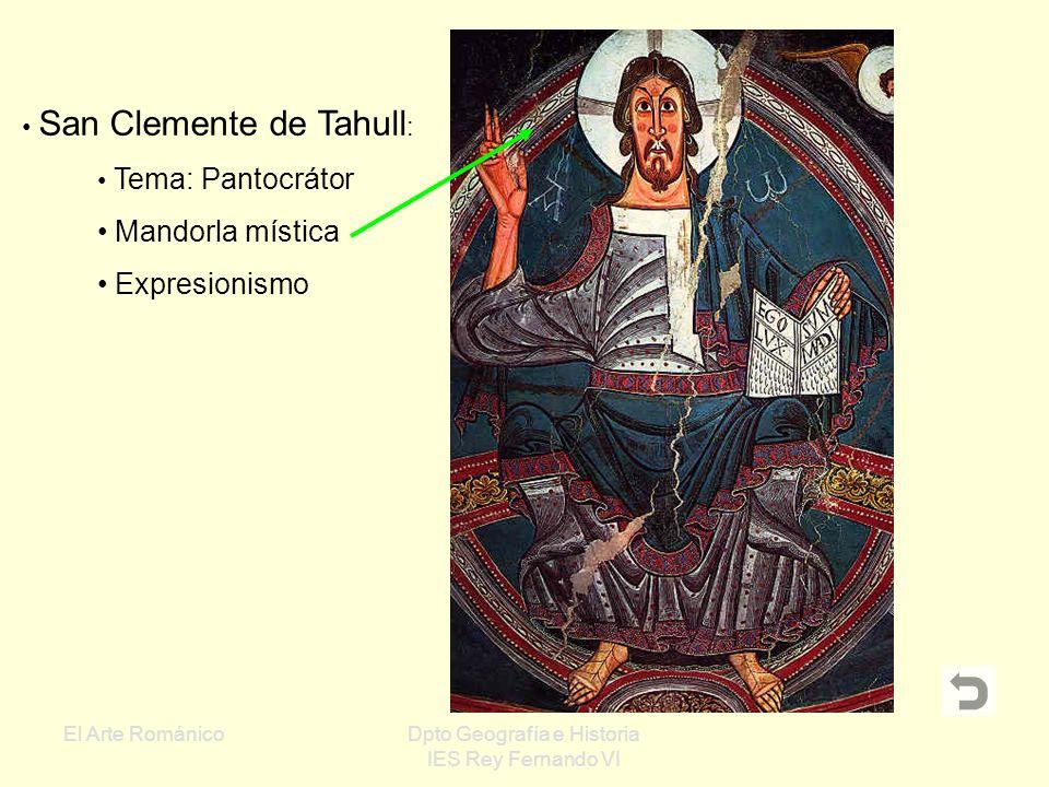 Mandorla mística Expresionismo San Clemente de Tahull: