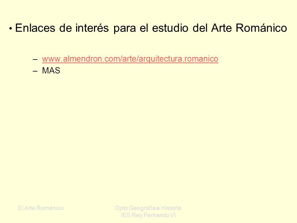 Enlaces de interés para el estudio del Arte Románico