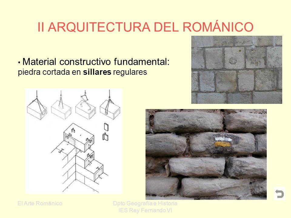 II ARQUITECTURA DEL ROMÁNICO