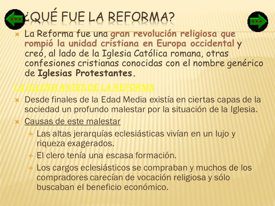 ¿Qué fue la Reforma