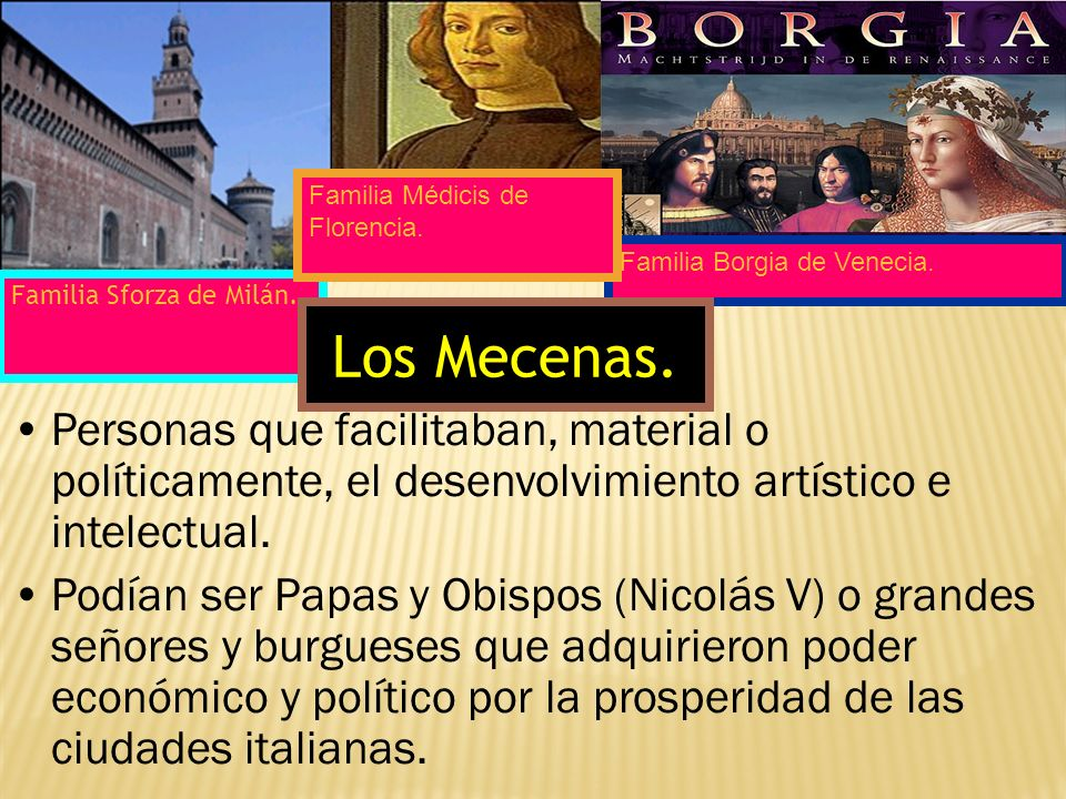 Familia Médicis de Florencia.