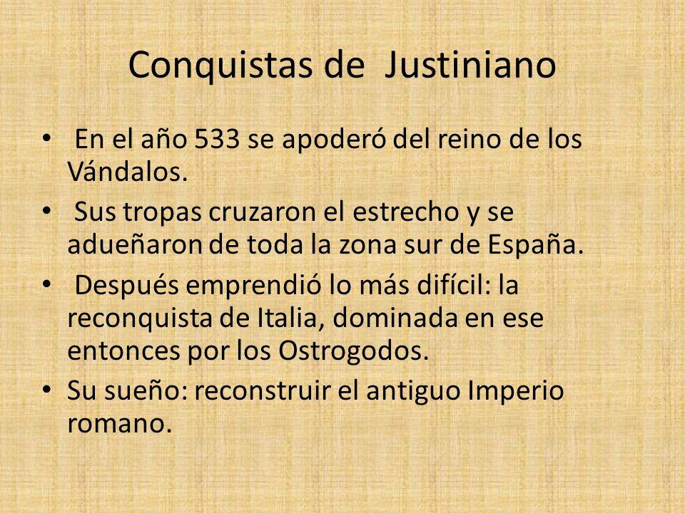 Conquistas de Justiniano