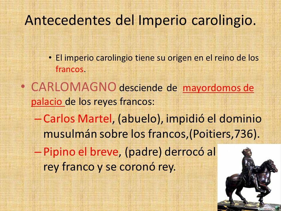 Antecedentes del Imperio carolingio.