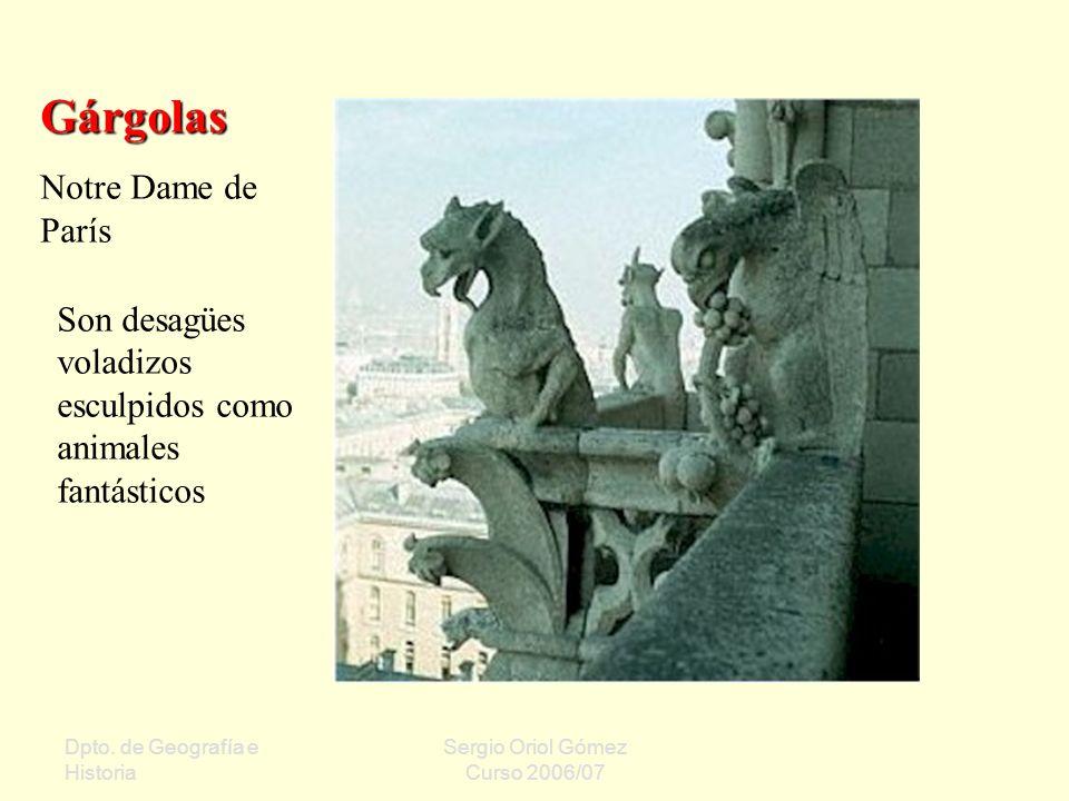 Gárgolas Notre Dame de París
