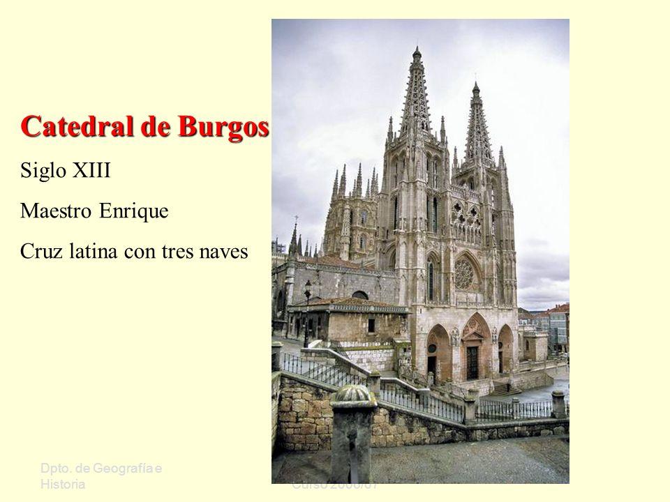 Catedral de Burgos Siglo XIII Maestro Enrique