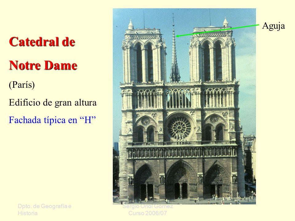Catedral de Notre Dame Aguja (París) Edificio de gran altura