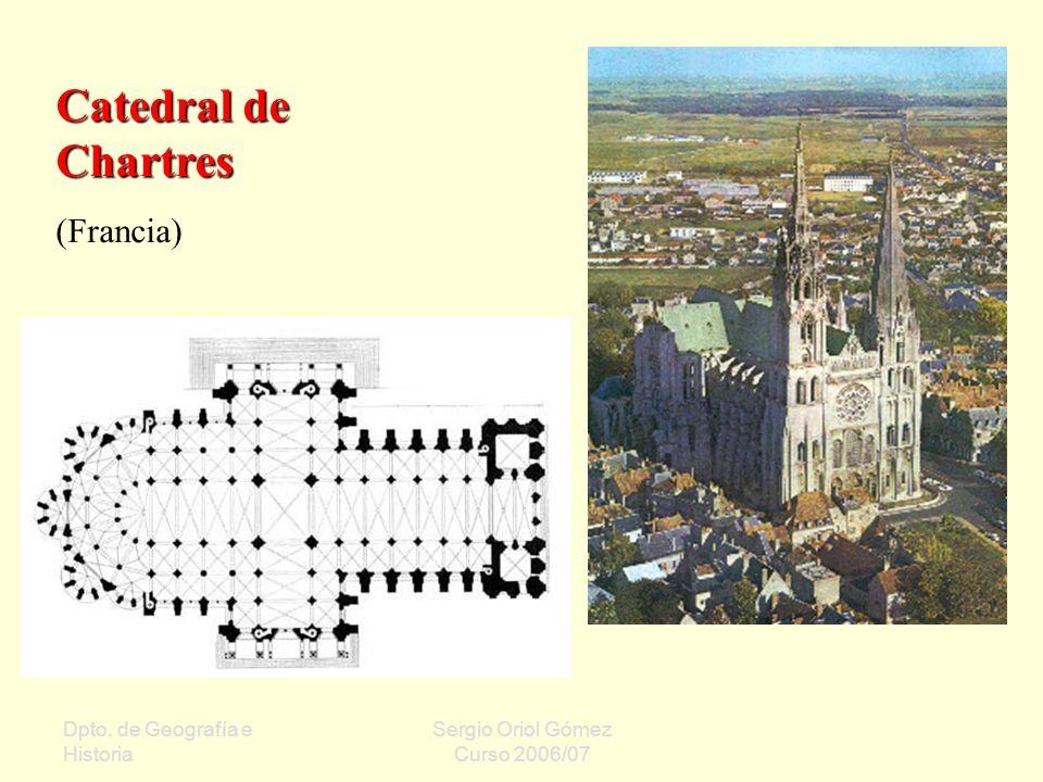 Catedral de Chartres (Francia) Dpto. de Geografía e Historia