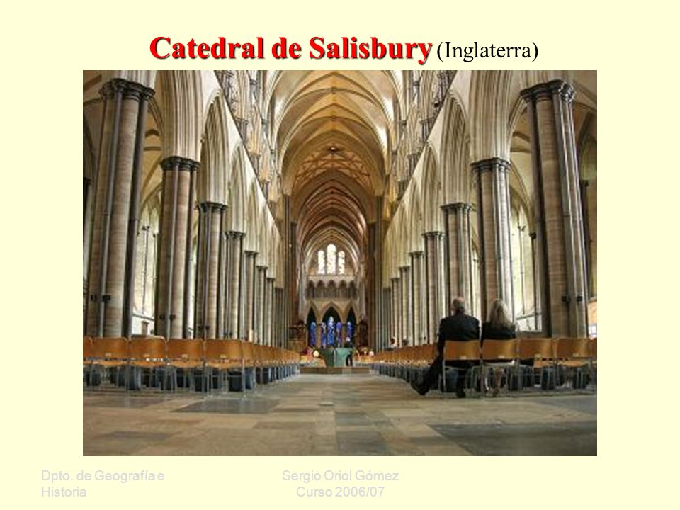 Catedral de Salisbury (Inglaterra)