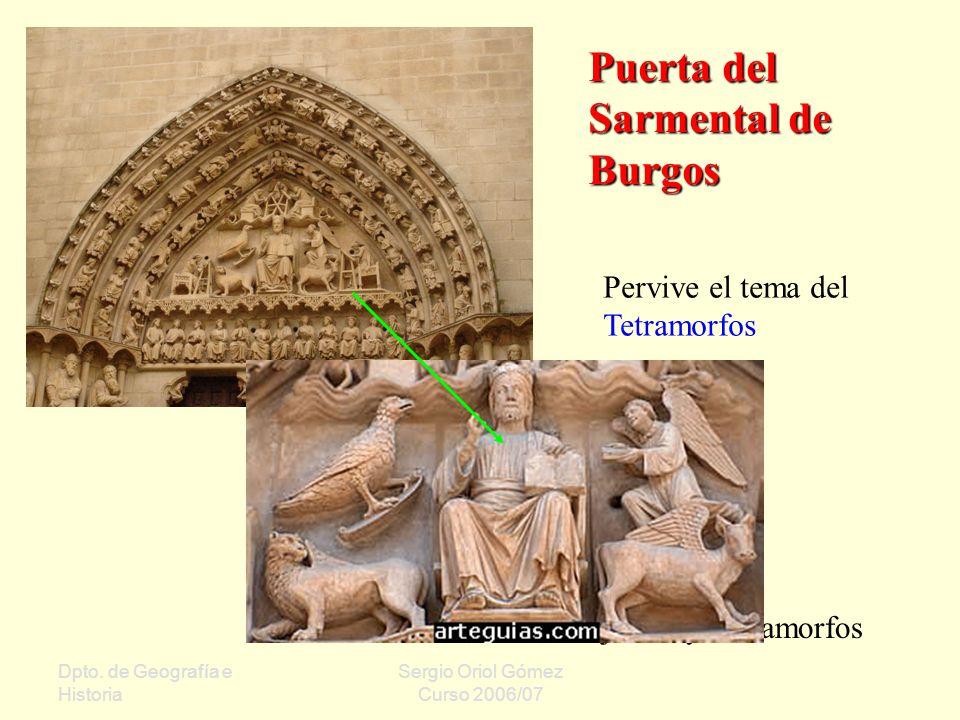 Puerta del Sarmental de Burgos