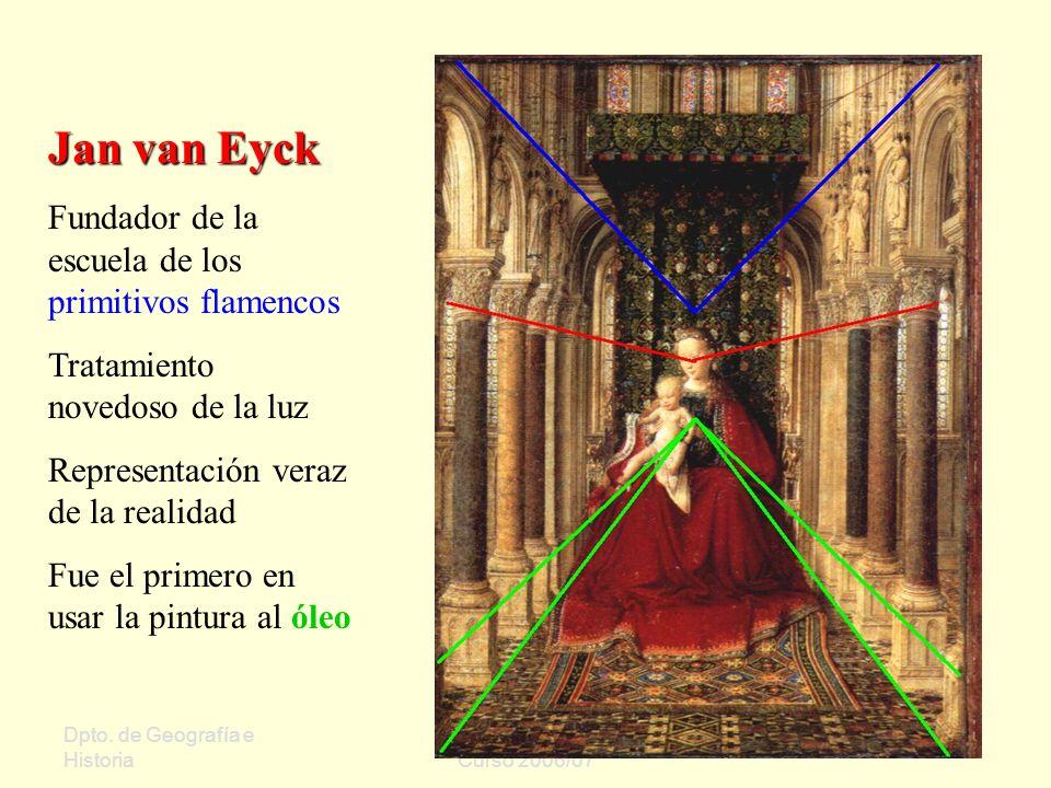 Jan van Eyck Fundador de la escuela de los primitivos flamencos