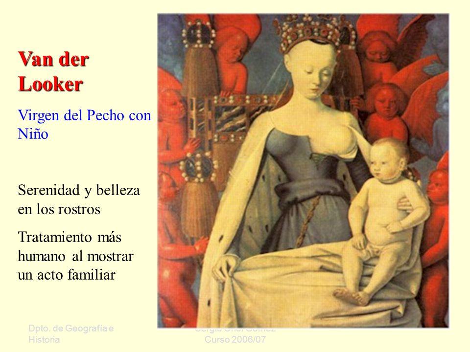 Van der Looker Virgen del Pecho con Niño