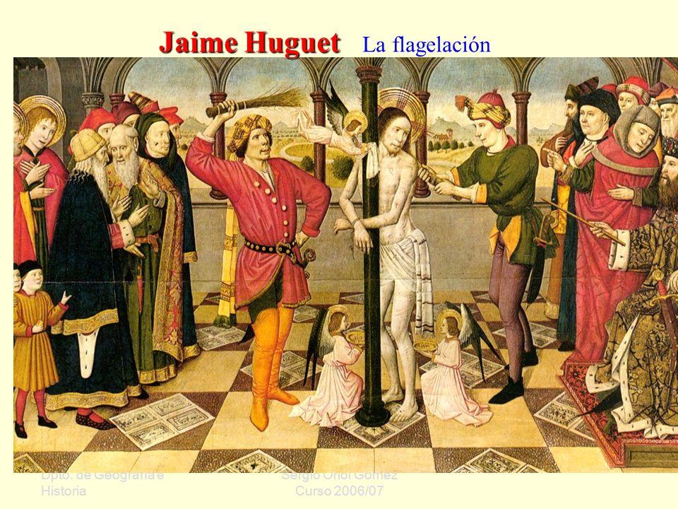Jaime Huguet La flagelación
