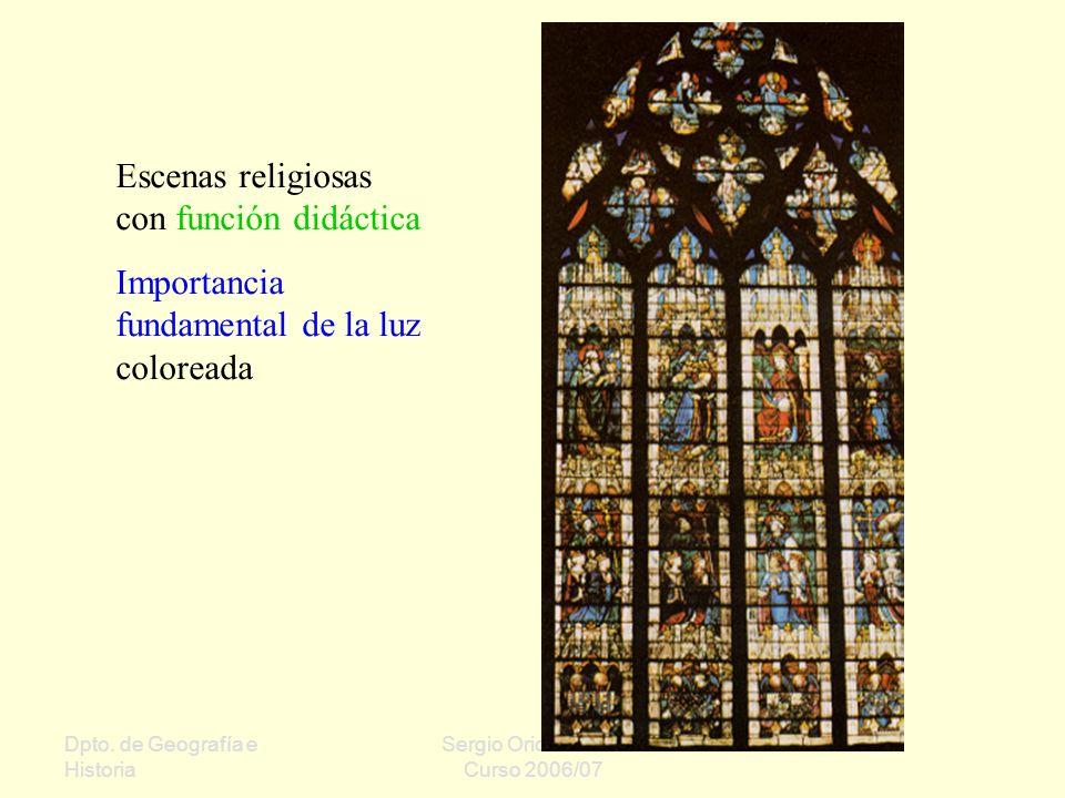 Escenas religiosas con función didáctica