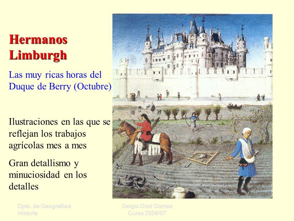 Hermanos Limburgh Las muy ricas horas del Duque de Berry (Octubre)