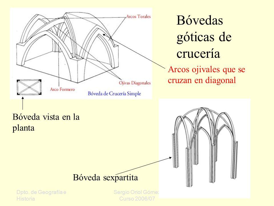Bóvedas góticas de crucería