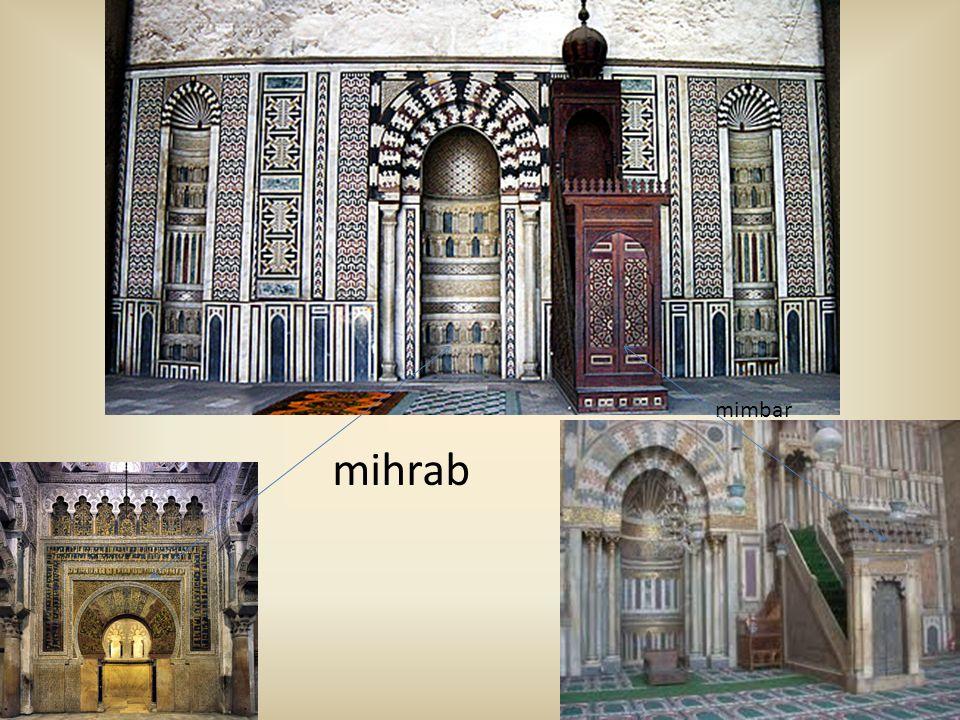 mimbar mihrab
