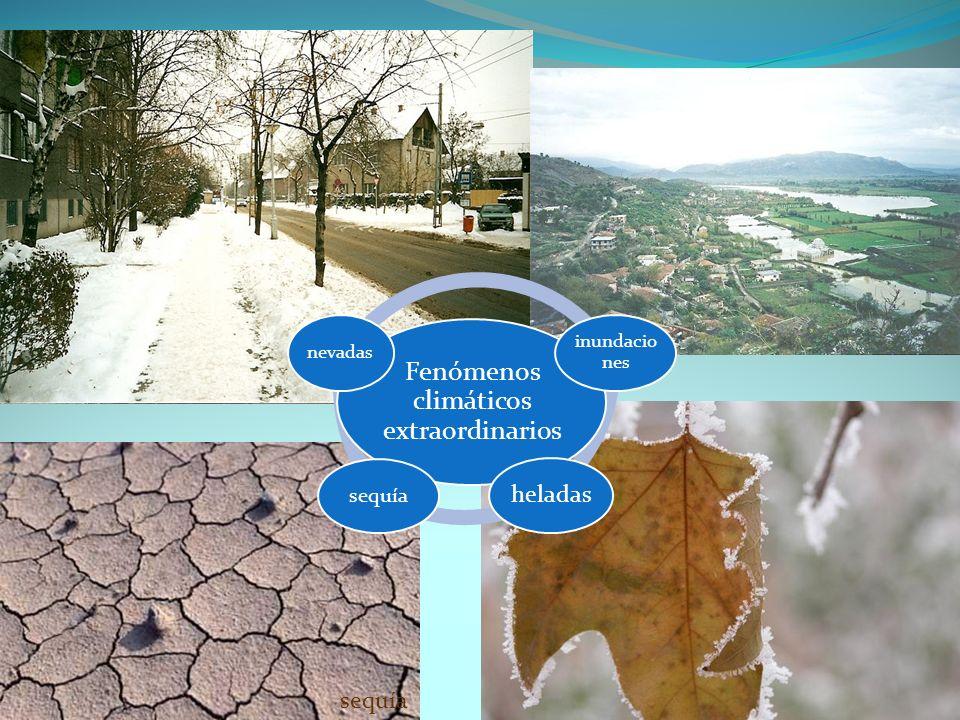 Fenómenos climáticos extraordinarios