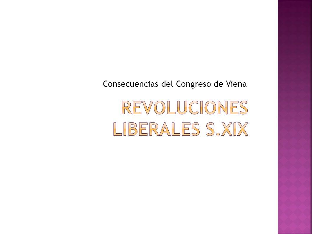 REVOLUCIONES LIBERALES S.XIX