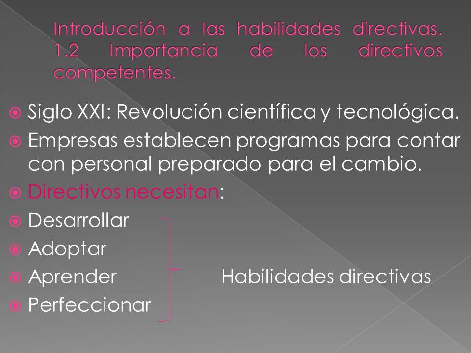 Siglo XXI: Revolución científica y tecnológica.