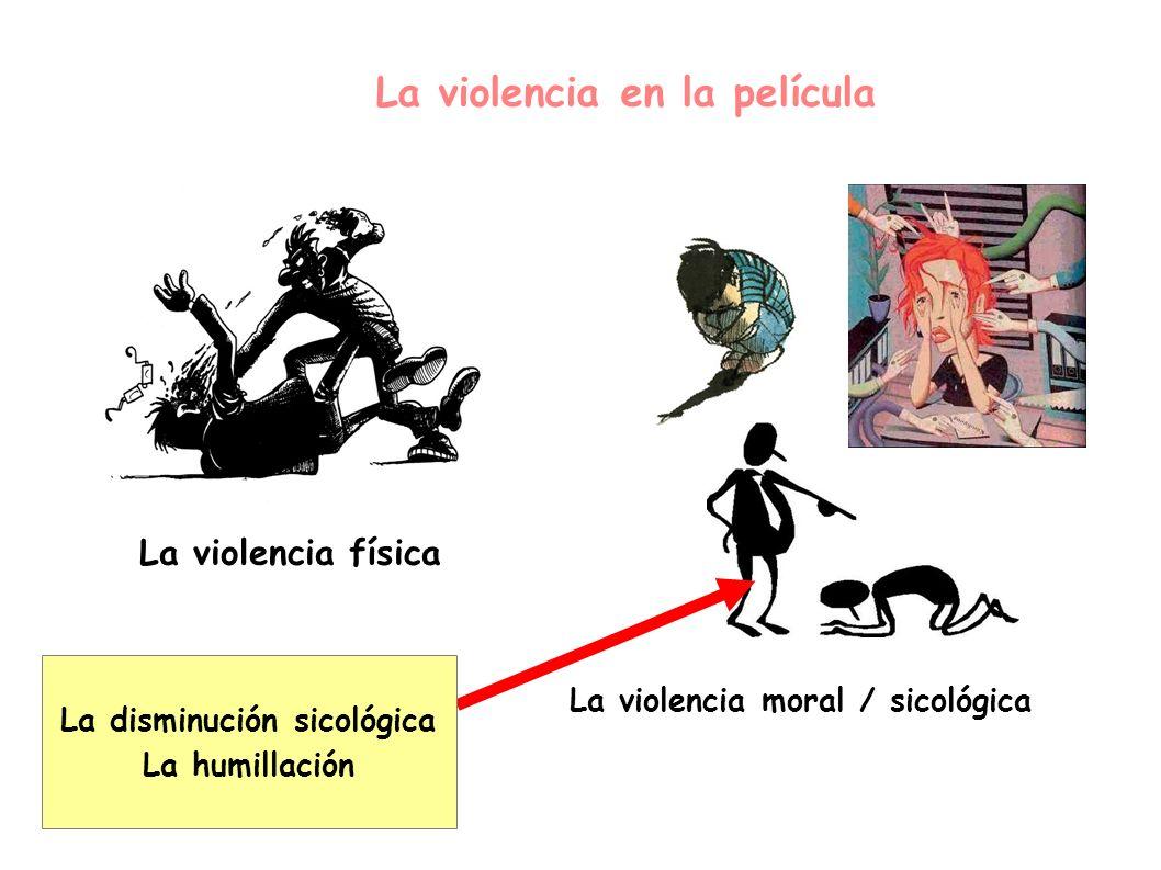 La violencia en la película