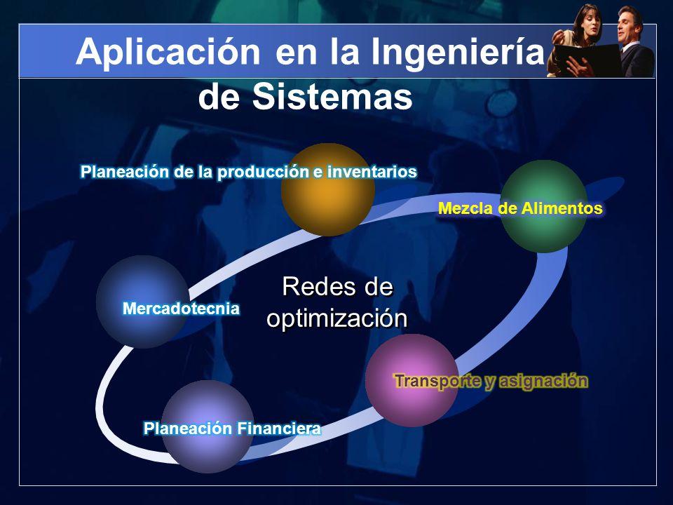 Aplicación en la Ingeniería de Sistemas