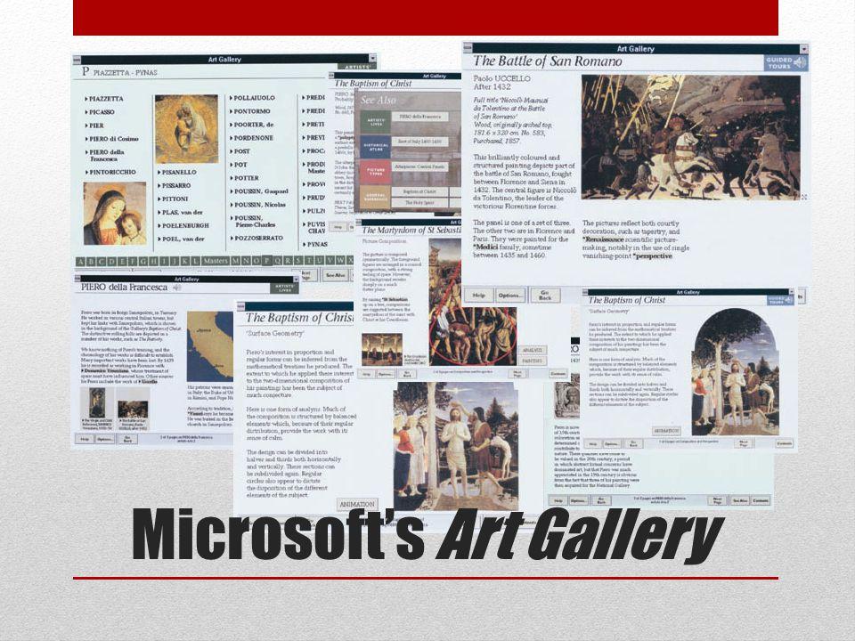 Microsoft's Art Gallery
