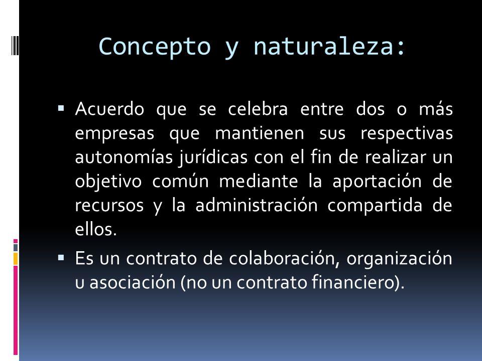 Concepto y naturaleza: