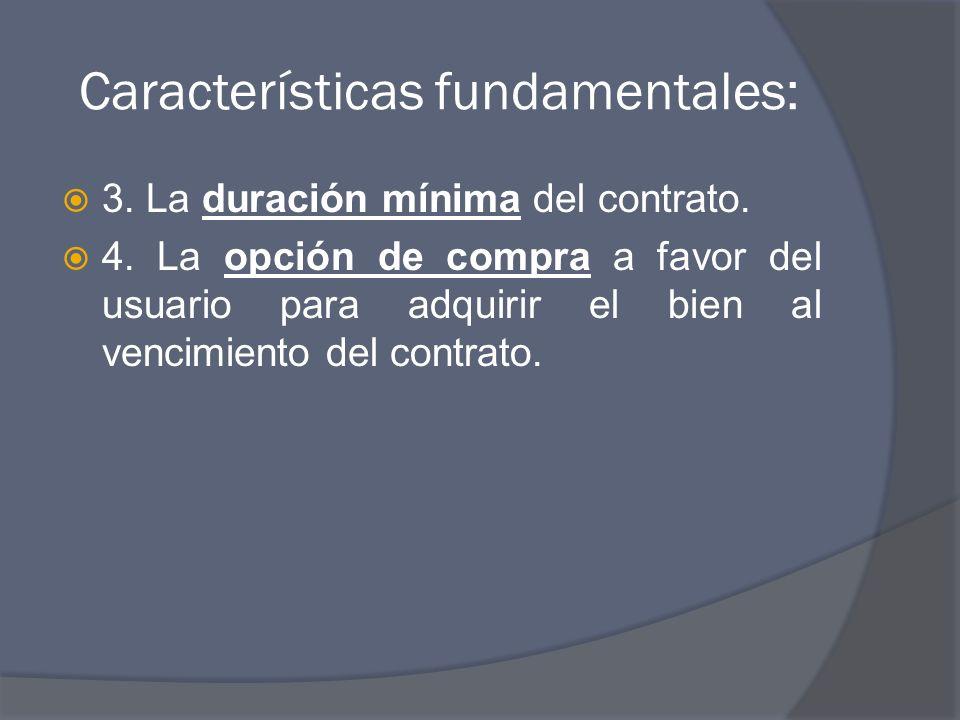 Características fundamentales: