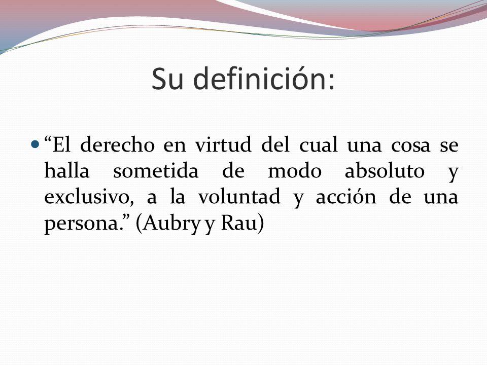 Su definición: