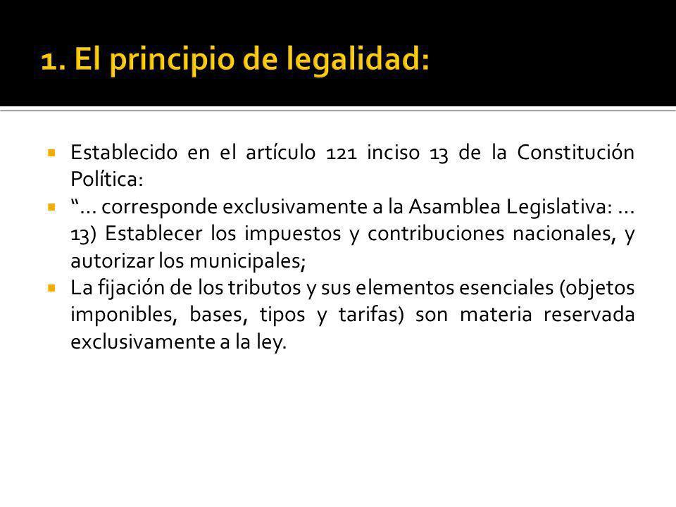 1. El principio de legalidad: