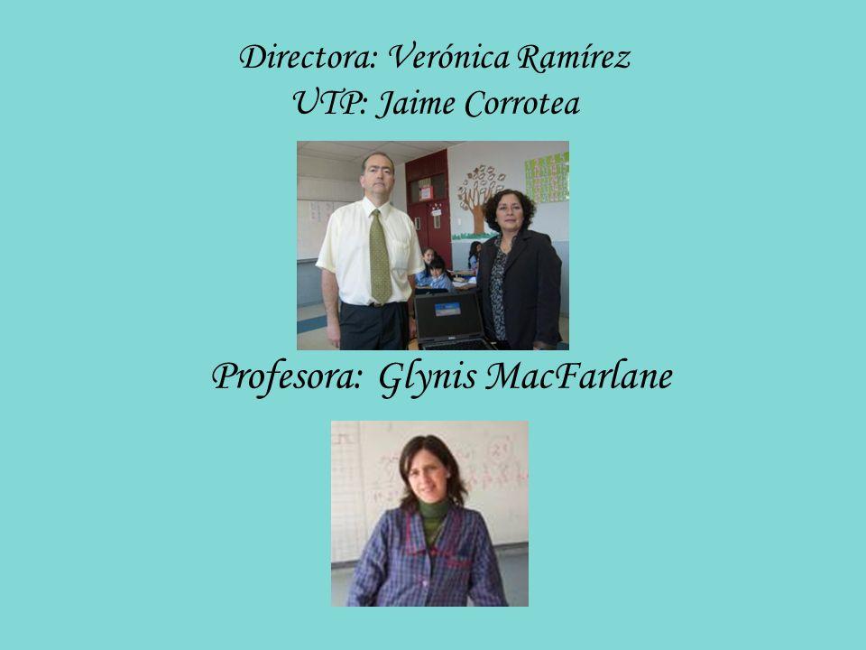 Directora: Verónica Ramírez UTP: Jaime Corrotea