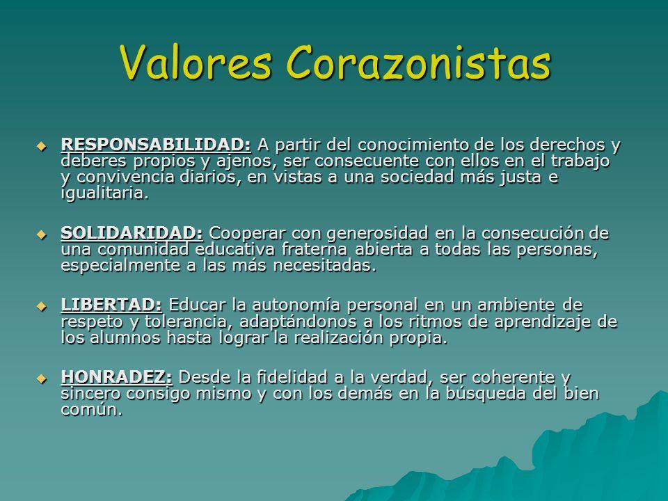 Valores Corazonistas