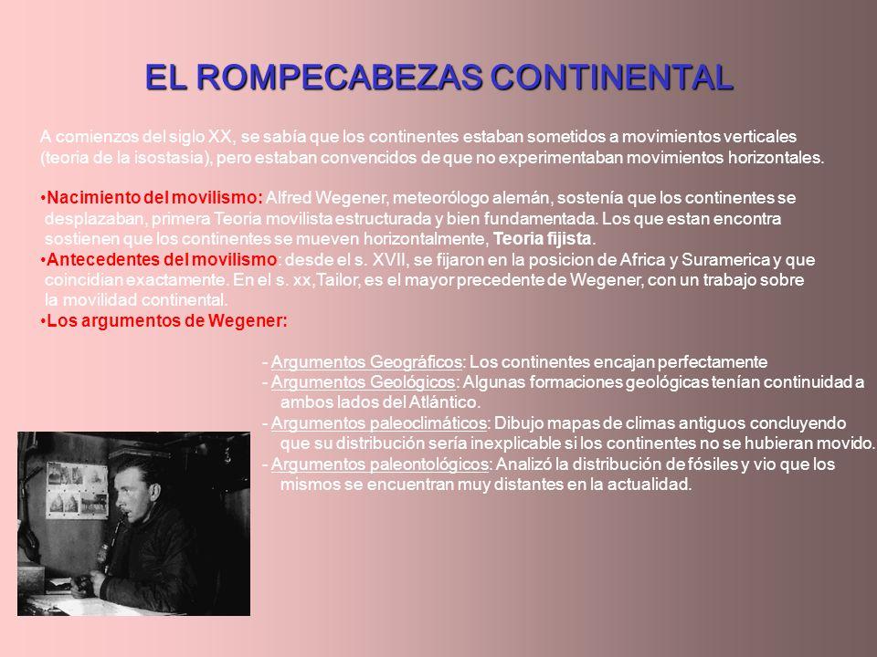 EL ROMPECABEZAS CONTINENTAL