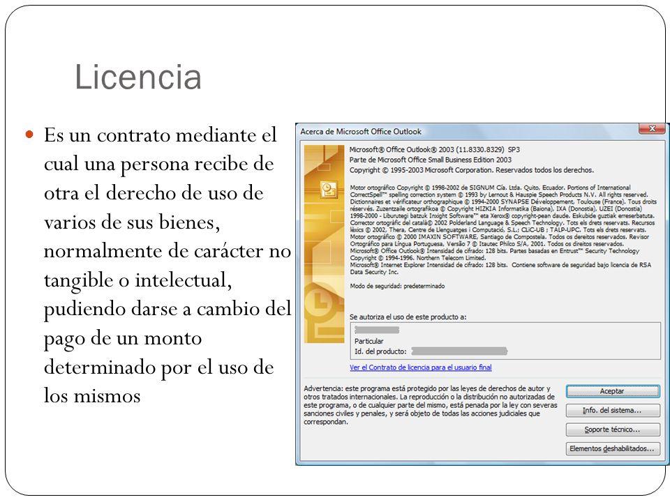 Licencia