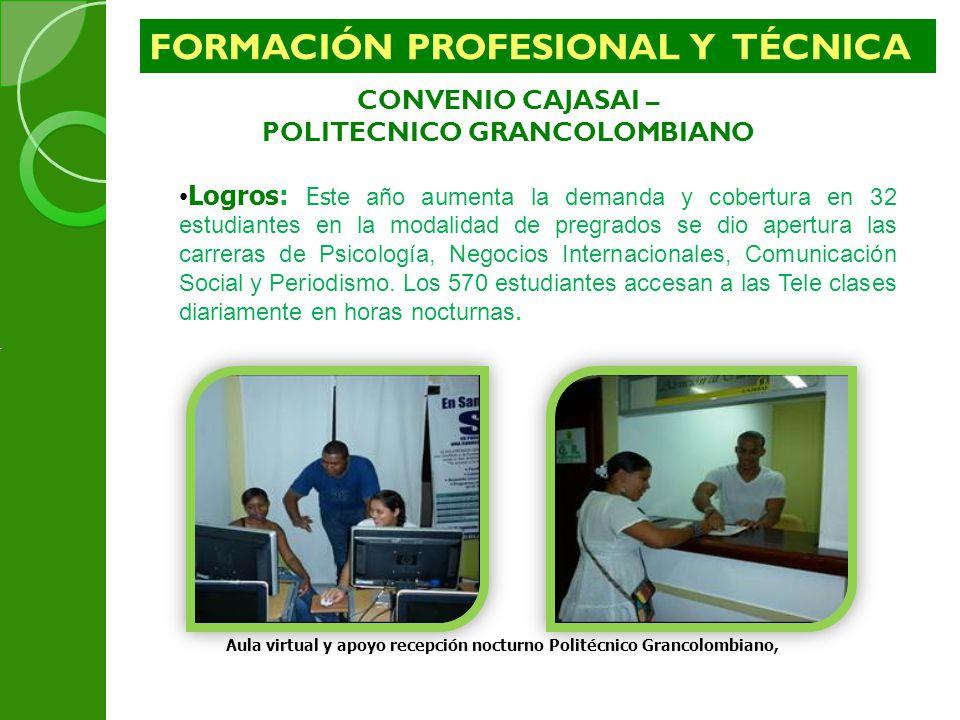 FORMACIÓN PROFESIONAL Y TÉCNICA