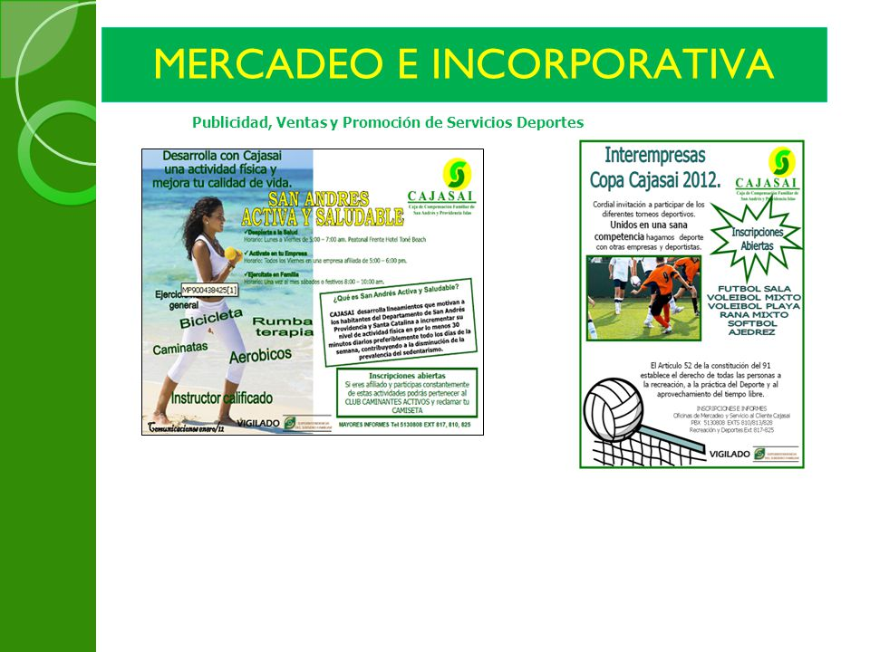 MERCADEO E INCORPORATIVA