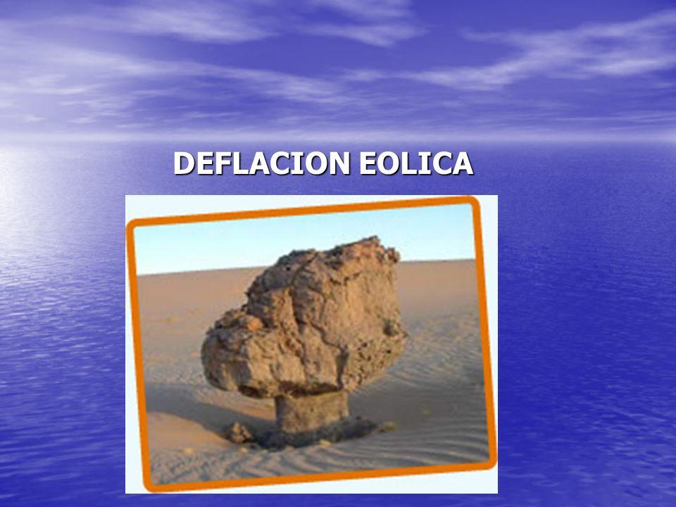 DEFLACION EOLICA