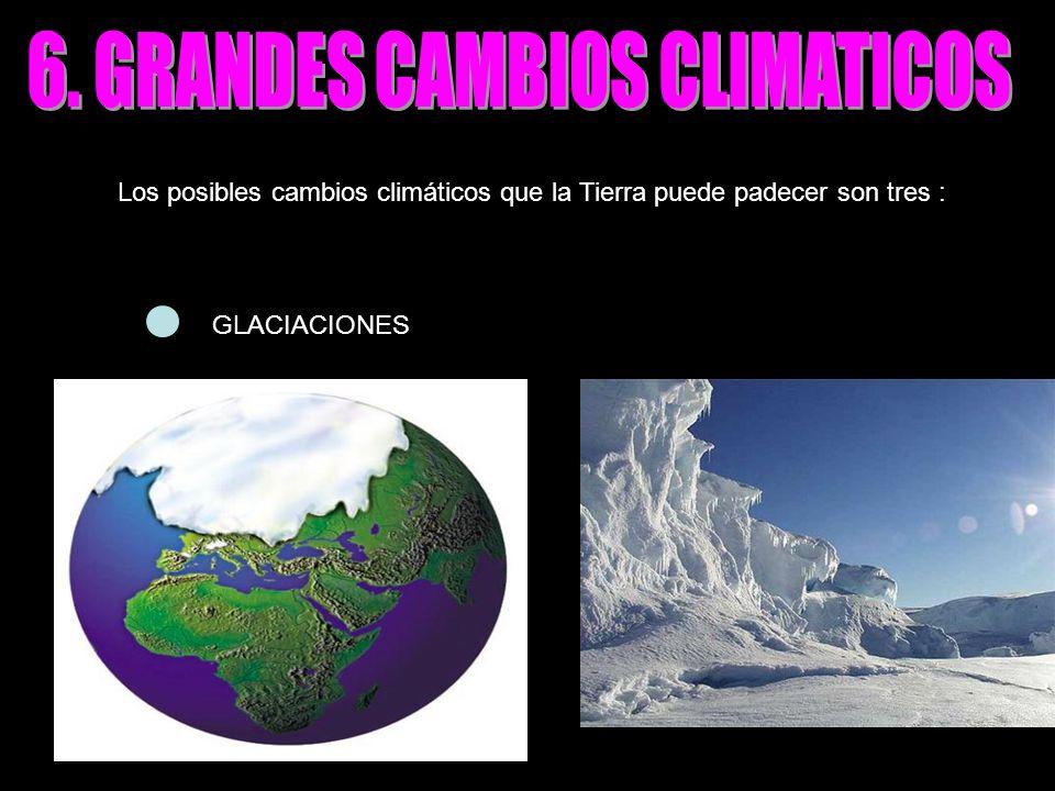6. GRANDES CAMBIOS CLIMATICOS
