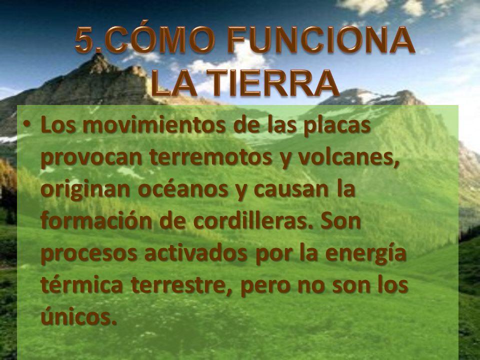 5.CÓMO FUNCIONA LA TIERRA
