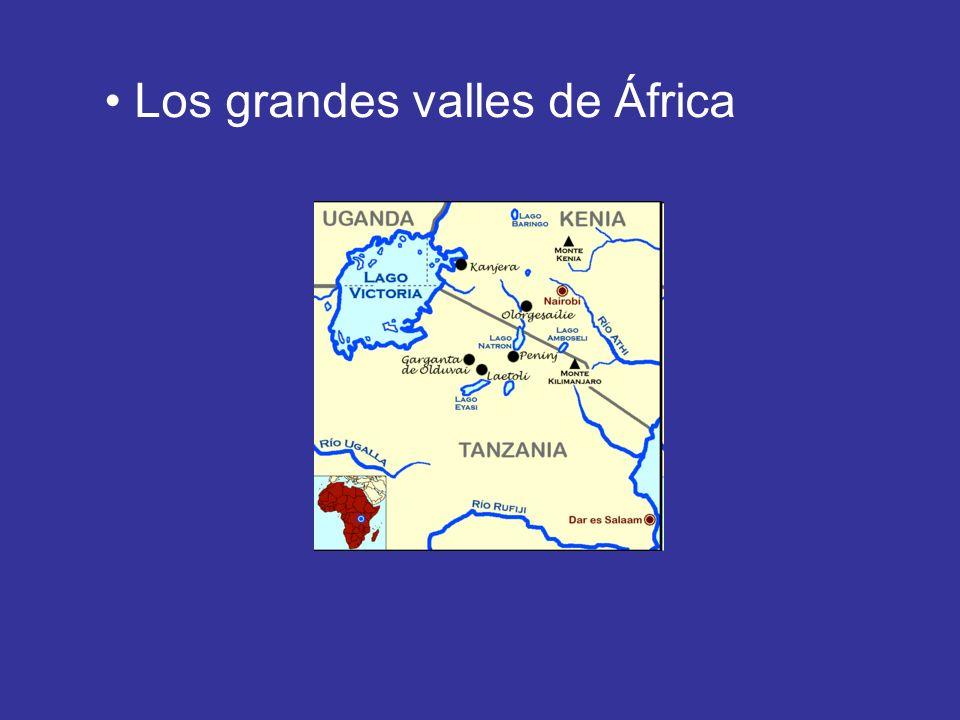 Los grandes valles de África