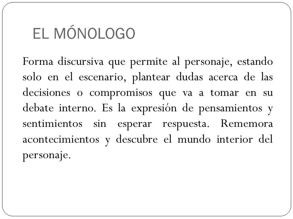 EL MÓNOLOGO