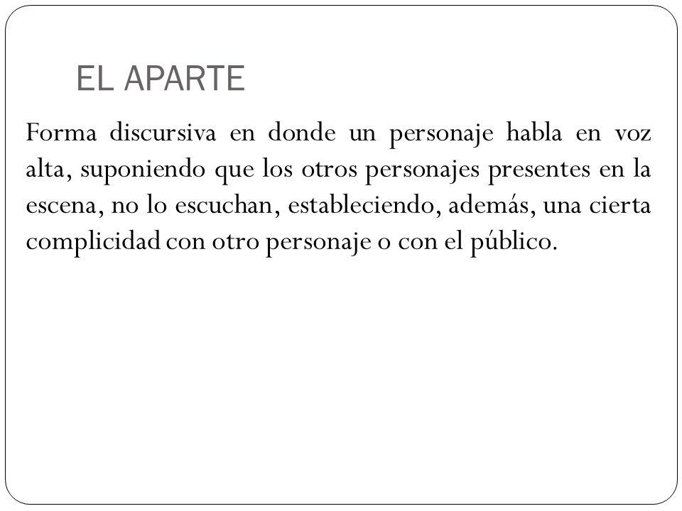EL APARTE
